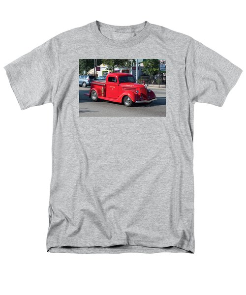 Men's T-Shirt  (Regular Fit) featuring the photograph Last Chance Hose Company by Suzanne Gaff
