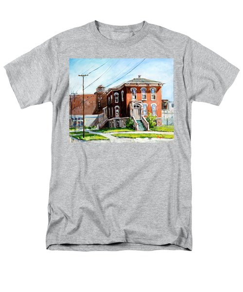 Last House Standing Men's T-Shirt  (Regular Fit) by Alexandra Maria Ethlyn Cheshire