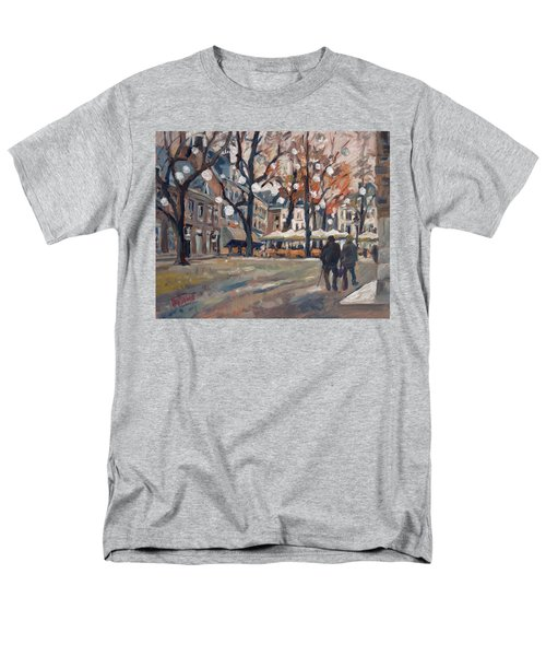 Late November At The Our Lady Square Maastricht Men's T-Shirt  (Regular Fit)