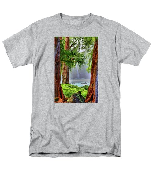 Men's T-Shirt  (Regular Fit) featuring the photograph Laupahoehoe Hawaii by DJ Florek