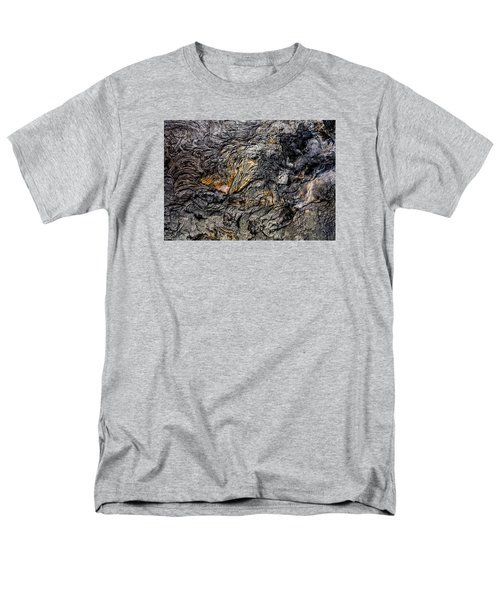 Lava Men's T-Shirt  (Regular Fit) by M G Whittingham