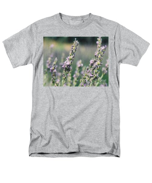 Men's T-Shirt  (Regular Fit) featuring the painting Lavender by Eric  Schiabor