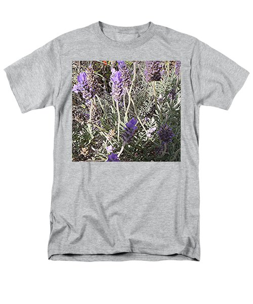 Lavender Moment Men's T-Shirt  (Regular Fit) by Winsome Gunning
