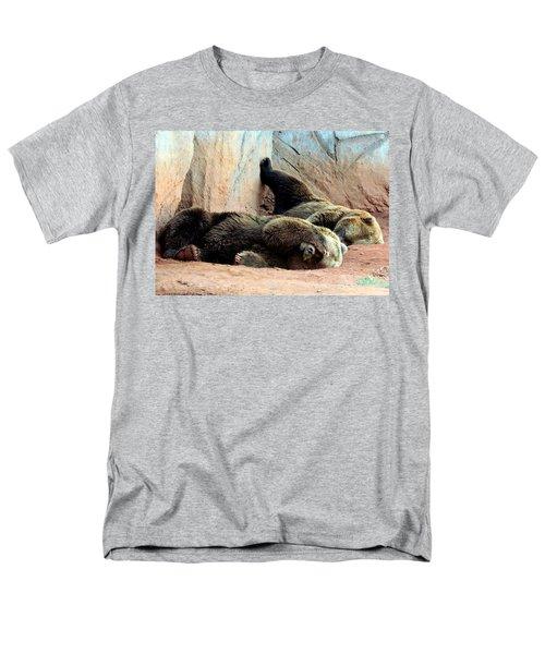 Lazy Bears Men's T-Shirt  (Regular Fit) by Sheila Brown