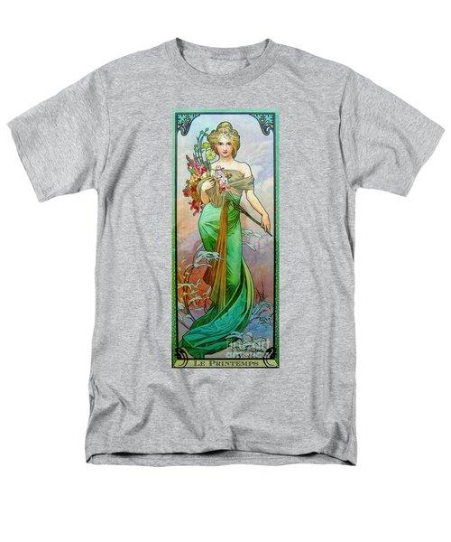 Le Printemps C1895 Men's T-Shirt  (Regular Fit) by Padre Art