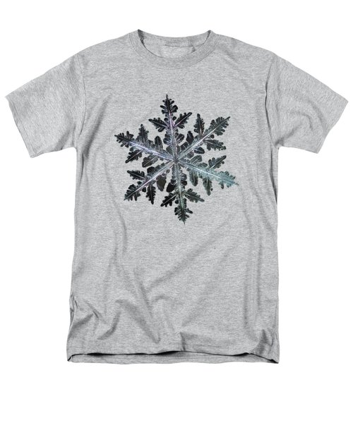 Men's T-Shirt  (Regular Fit) featuring the photograph Leaves Of Ice by Alexey Kljatov