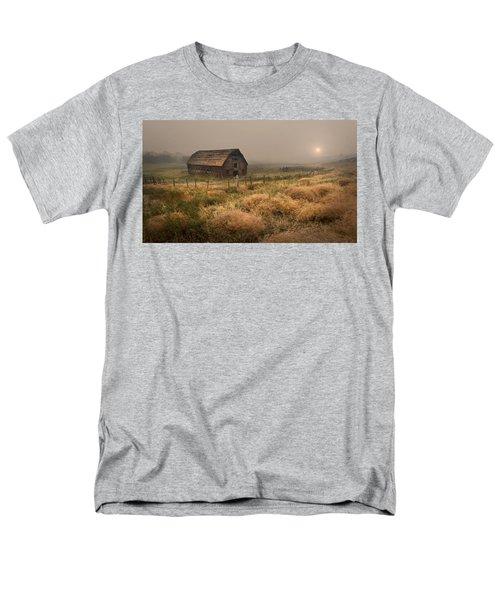 Legacy - Haynes Ranch Barn Men's T-Shirt  (Regular Fit) by John Poon