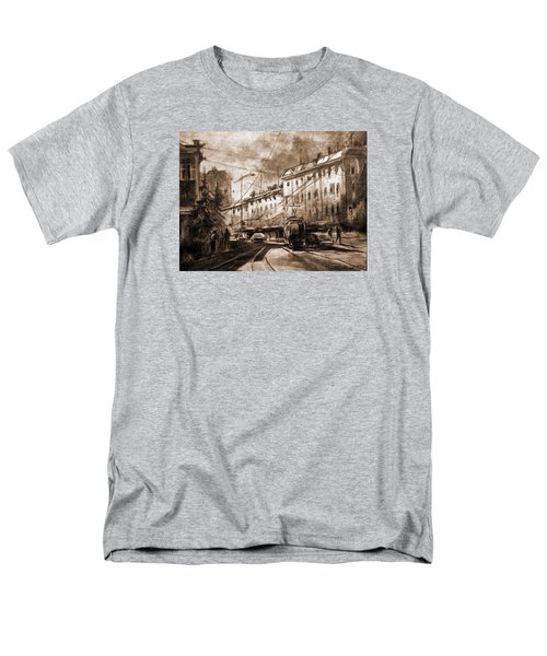 Life In The City Men's T-Shirt  (Regular Fit) by Mikhail Savchenko