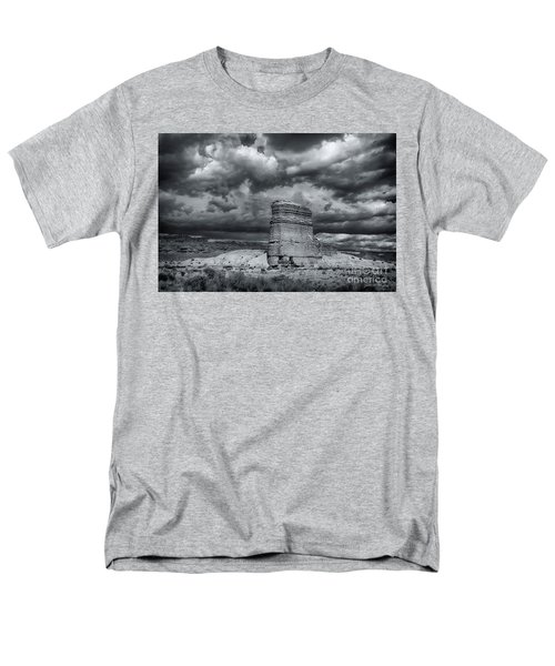 Men's T-Shirt  (Regular Fit) featuring the photograph Light On The Rock by John A Rodriguez