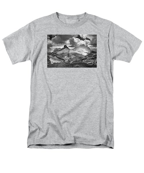 Men's T-Shirt  (Regular Fit) featuring the photograph Light On The Valley by Yuri Santin