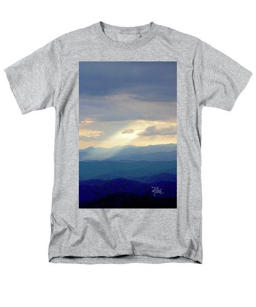 Light Ray Sunset Men's T-Shirt  (Regular Fit) by Meta Gatschenberger