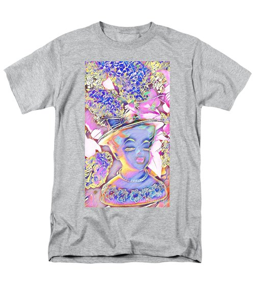 Lilac Men's T-Shirt  (Regular Fit) by Karen Newell