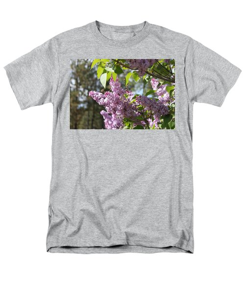Men's T-Shirt  (Regular Fit) featuring the photograph Lilacs 5545 by Antonio Romero