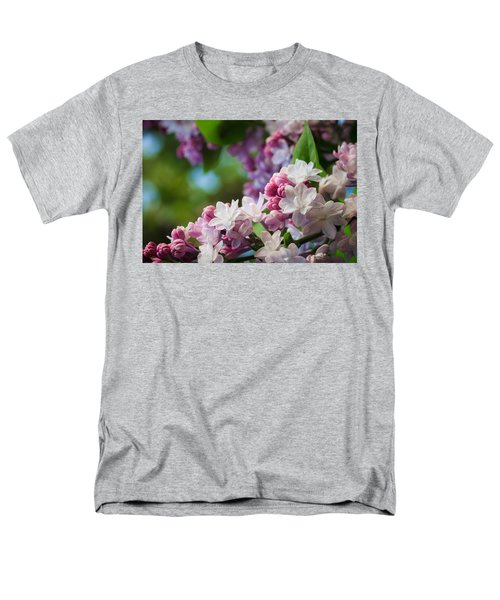 Lilacs Of Spring Men's T-Shirt  (Regular Fit) by Joni Eskridge
