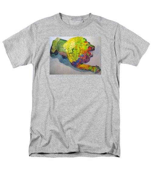 Lion Of Judah Men's T-Shirt  (Regular Fit) by Sandy McIntire