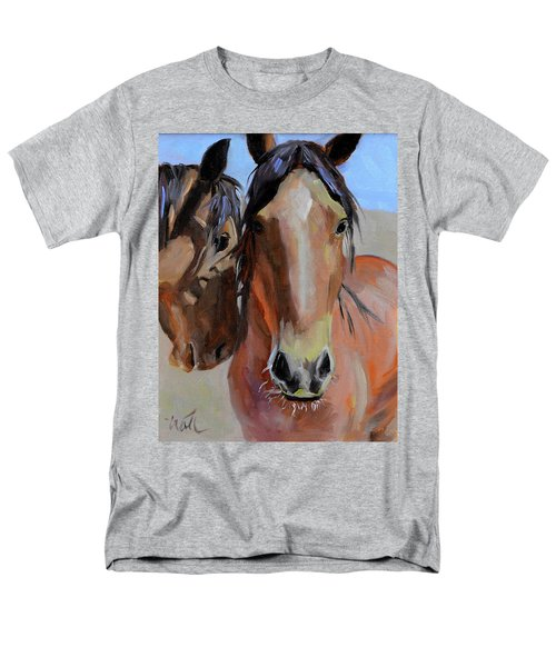 Men's T-Shirt  (Regular Fit) featuring the painting Litchfield Homies by Pattie Wall