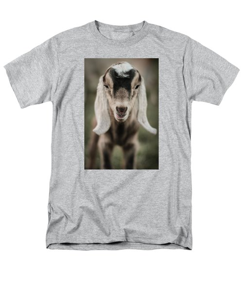 Little Goat In Color Men's T-Shirt  (Regular Fit) by Kelly Hazel