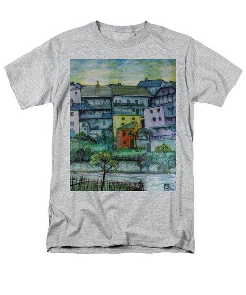 River Homes Men's T-Shirt  (Regular Fit) by Ron Richard Baviello