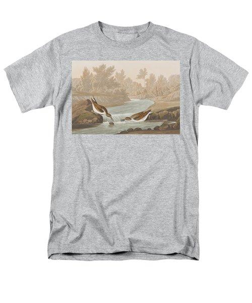 Little Sandpiper Men's T-Shirt  (Regular Fit) by John James Audubon