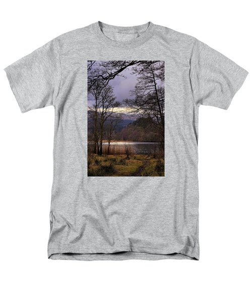 Men's T-Shirt  (Regular Fit) featuring the photograph Loch Venachar by Jeremy Lavender Photography