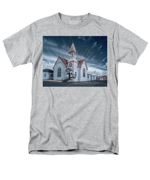 Loleta Church Men's T-Shirt  (Regular Fit) by Greg Nyquist