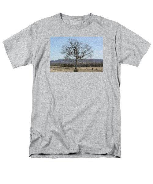 Men's T-Shirt  (Regular Fit) featuring the photograph Lone Tree by Donna G Smith