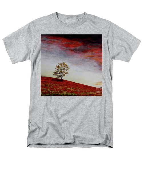 Lonely Tree Men's T-Shirt  (Regular Fit) by Judy Kirouac