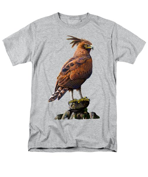 Long Crested Eagle Men's T-Shirt  (Regular Fit) by Anthony Mwangi