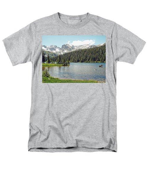Long Lake Splender Men's T-Shirt  (Regular Fit) by Joseph Hendrix