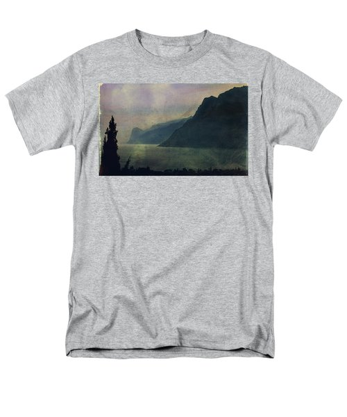 Looking At The Lake... Men's T-Shirt  (Regular Fit) by Vittorio Chiampan