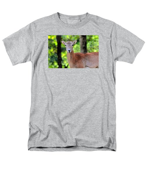 Men's T-Shirt  (Regular Fit) featuring the photograph Looking At You by Marion Johnson