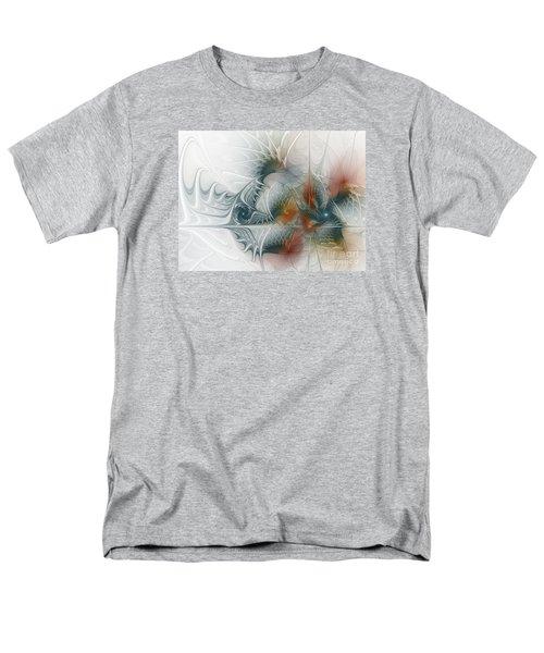 Men's T-Shirt  (Regular Fit) featuring the digital art Looking Back by Karin Kuhlmann