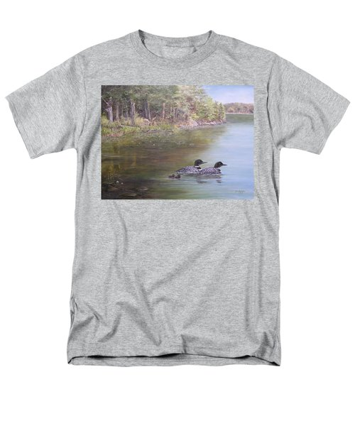 Loon Family 1 Men's T-Shirt  (Regular Fit)