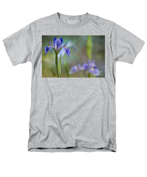 Men's T-Shirt  (Regular Fit) featuring the photograph Louisiana Iris by Bonnie Barry