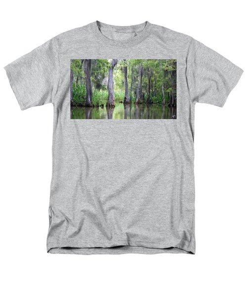 Louisiana Swamp 5 Men's T-Shirt  (Regular Fit) by Inspirational Photo Creations Audrey Woods