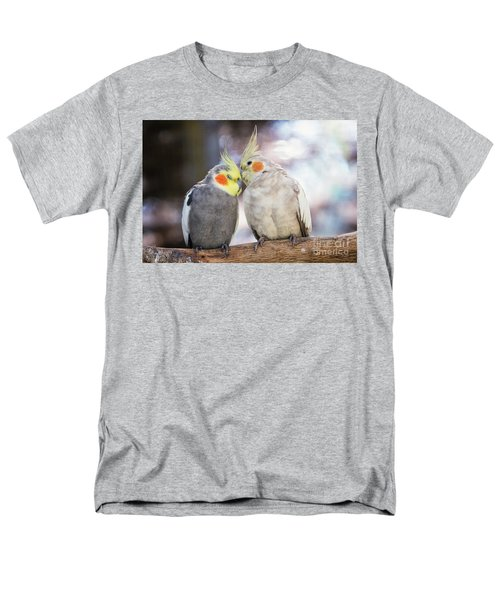 Love Birds Men's T-Shirt  (Regular Fit) by Stephanie Hayes