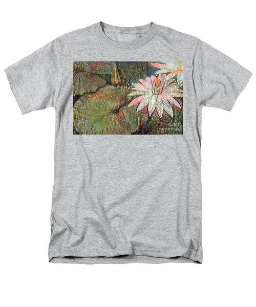 Lovely Waterlilies 4 Men's T-Shirt  (Regular Fit)