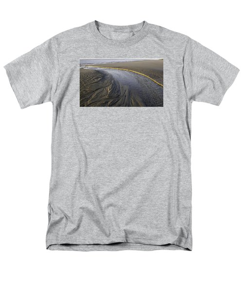 Low Tide Morning Men's T-Shirt  (Regular Fit) by Elizabeth Eldridge