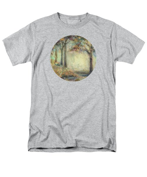 Men's T-Shirt  (Regular Fit) featuring the painting Luminous Landscape by Mary Wolf