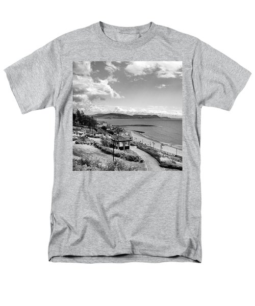Lyme Regis And Lyme Bay, Dorset Men's T-Shirt  (Regular Fit) by John Edwards