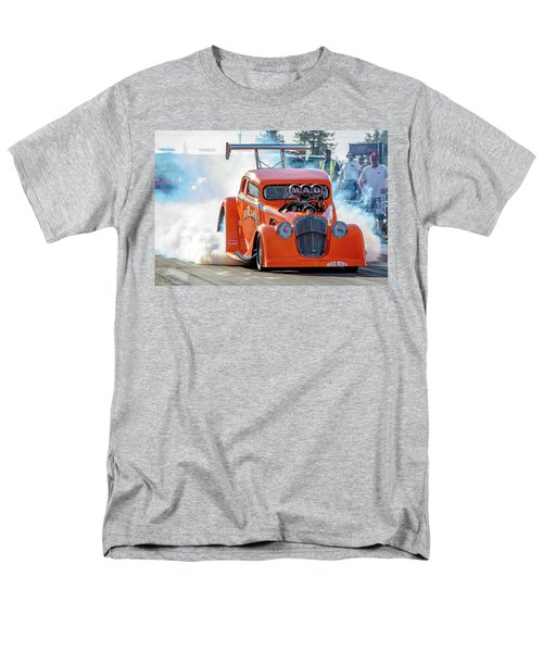 Men's T-Shirt  (Regular Fit) featuring the photograph Mad Mike Racing by Bill Gallagher