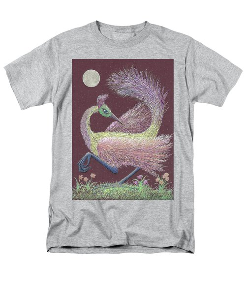 Magic Moon Dance Men's T-Shirt  (Regular Fit) by Charles Cater