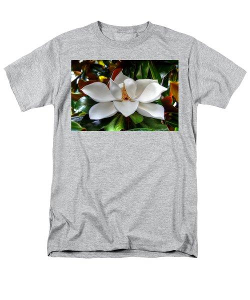 Magnolia Bloom Men's T-Shirt  (Regular Fit) by Ronda Ryan