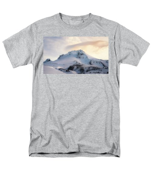 Men's T-Shirt  (Regular Fit) featuring the photograph Majestic Mt. Hood by Ryan Manuel
