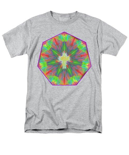Mandala 1 1 2016 Men's T-Shirt  (Regular Fit) by Hidden Mountain