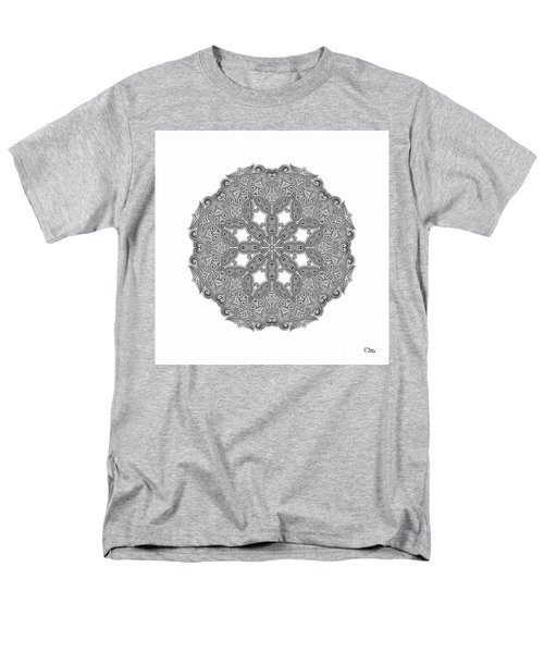 Mandala To Color Men's T-Shirt  (Regular Fit) by Mo T