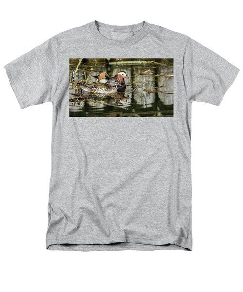Mandarin Ducks The Couple Men's T-Shirt  (Regular Fit) by Torbjorn Swenelius