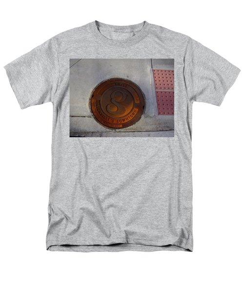 Manhole I Men's T-Shirt  (Regular Fit) by Flavia Westerwelle