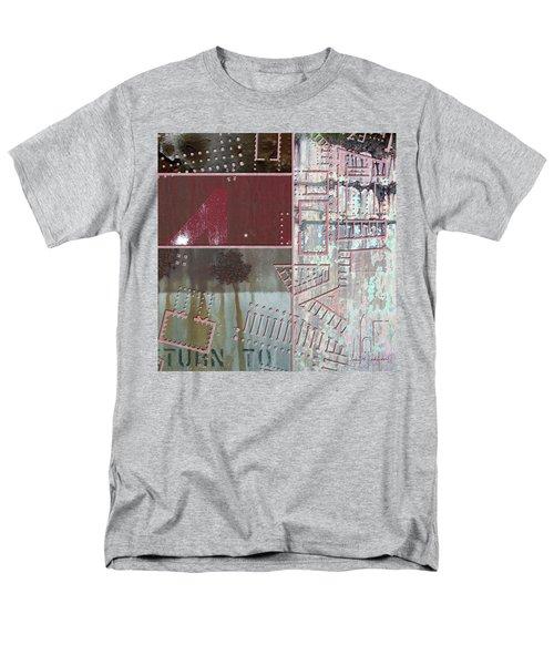 Maps #17 Men's T-Shirt  (Regular Fit) by Joan Ladendorf