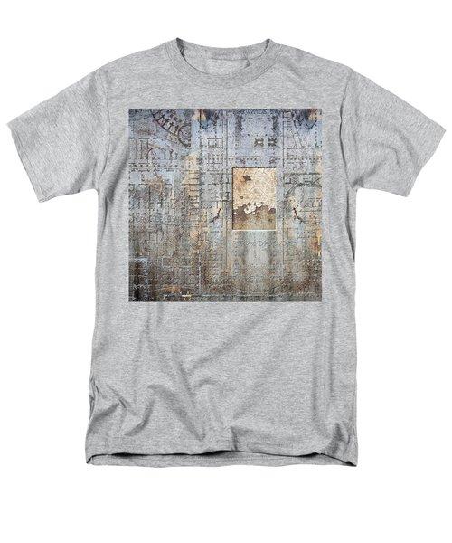 Maps #18 Men's T-Shirt  (Regular Fit) by Joan Ladendorf